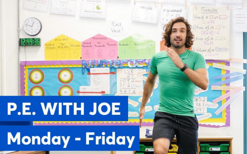Joe Wicks_Remote Teaching Resources